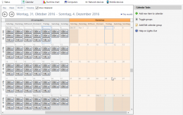 calendar groups