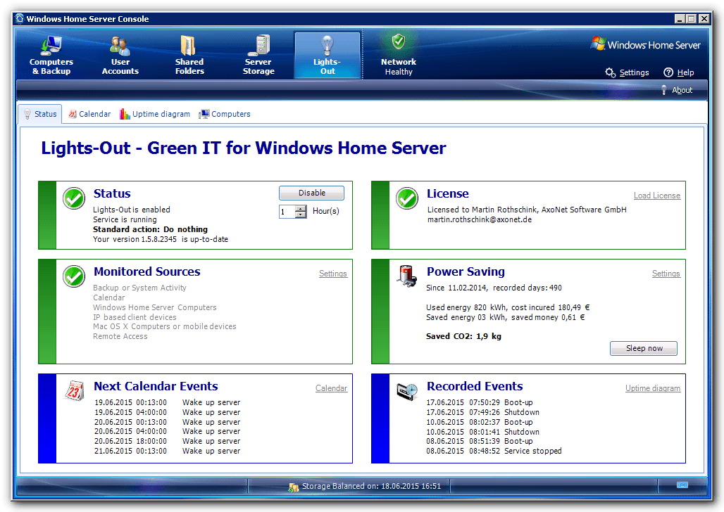 Windows Home Server Restore