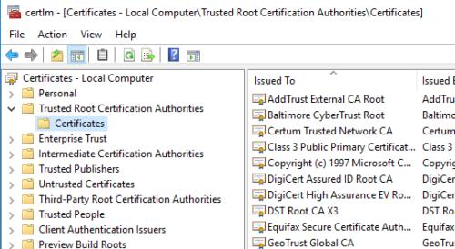 Day 2: SSL Certificates, LAN/WAN access | Green-IT