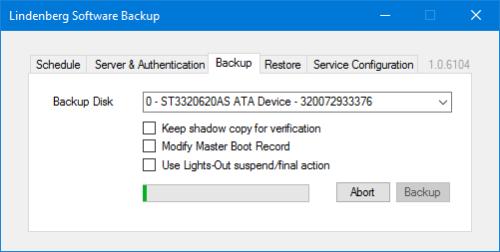 Lindenberg Software Backup Disk