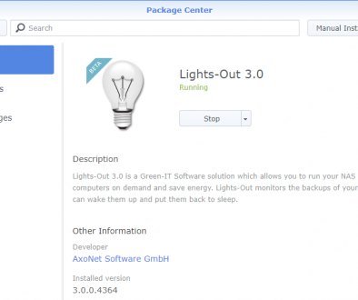 Lights-Out 3 for Synology DSM