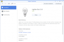 Lights-Out 3 auf Synology