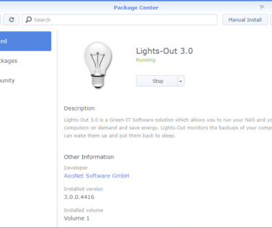 Lights-Out 3 on Synology