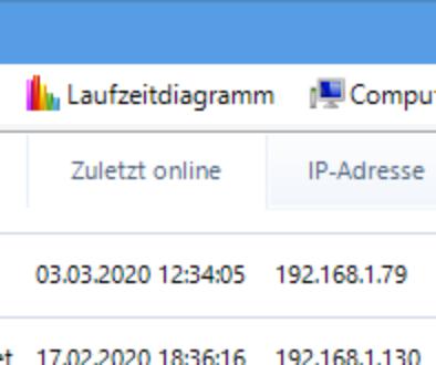 Sekundärer Server als Netzwerkgerät